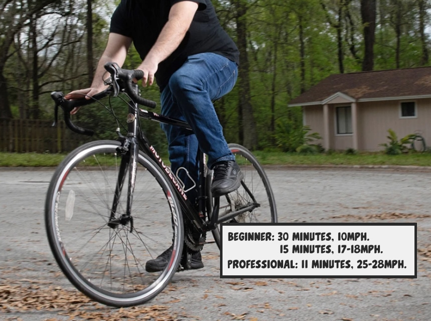 How Long Does It Take to Bike a Mile on Average? - Let's Count
